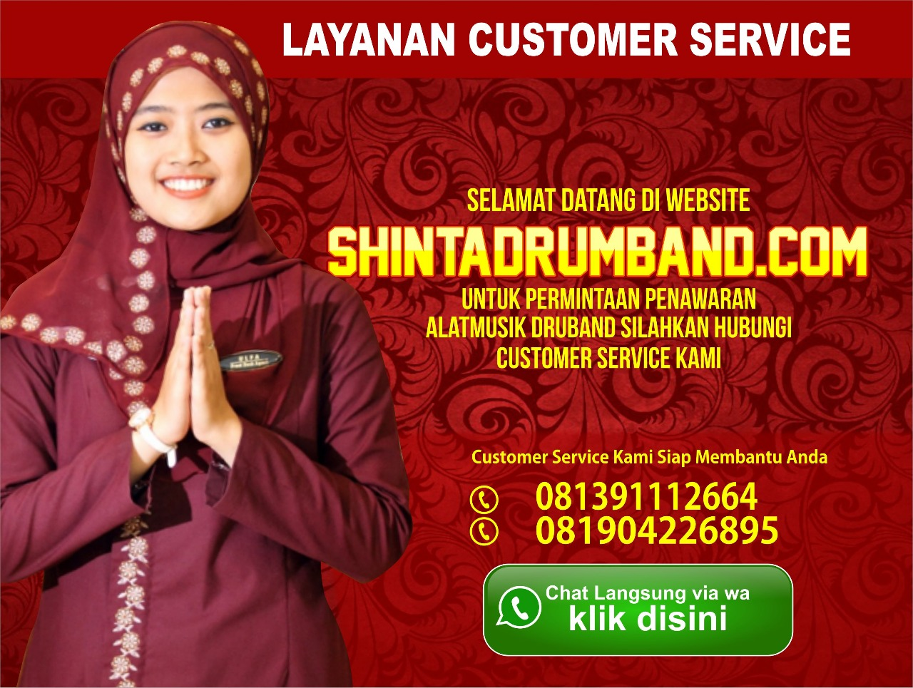 SHINTA Jual Alat Drumband SHINTA Marchingband SHINTA seragam Drumband SHINTA Pengrajin DRUMBAND
